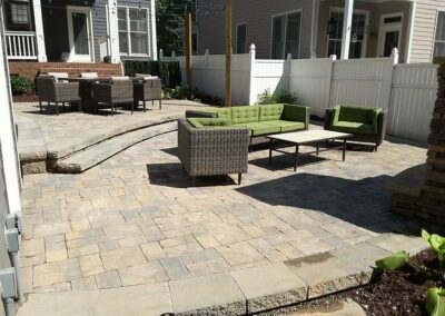 Southern Greenscapes Landscape Design & Construction | Rock Hill, SC | multi level patio