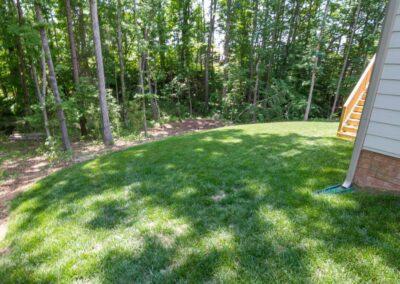 Southern Greenscapes Landscape Design & Construction | Rock Hill, SC | back yard before