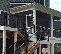 Southern Greenscapes Landscape Design & Construction   Rock Hill, SC   porch