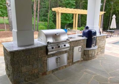 Southern Greenscapes Landscape Design & Construction | Rock Hill, SC | outdoor kitchen and patio