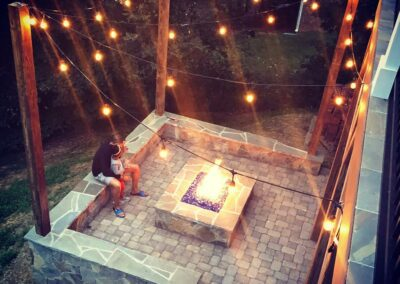 Southern Greenscapes Landscape Design & Construction | Rock Hill, SC | fire pit and patio