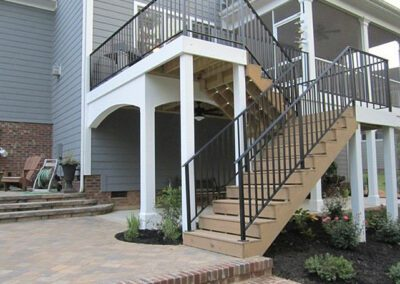 Southern Greenscapes Landscape Design & Construction | Rock Hill, SC | patio with steps