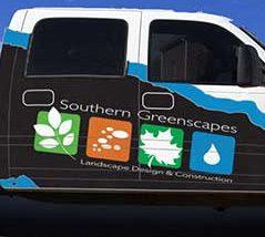 Southern Greenscapes Landscape Design & Construction   Rock Hill, SC   truck